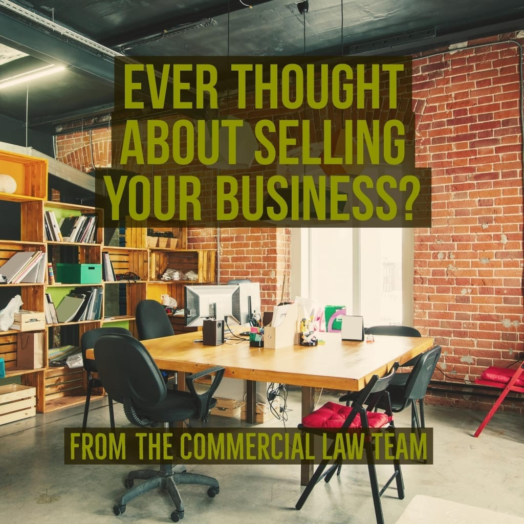 Ever thought about selling your business