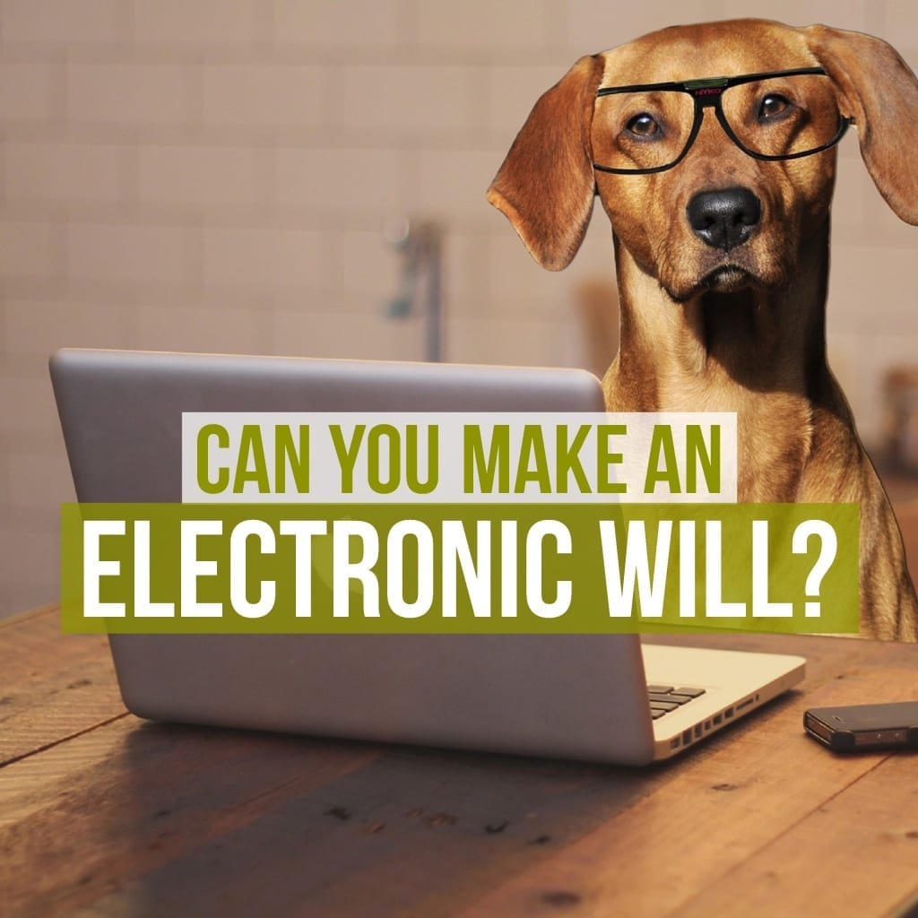Can you make an electronic will?