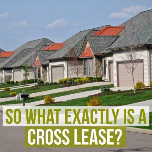 Crosslease housing